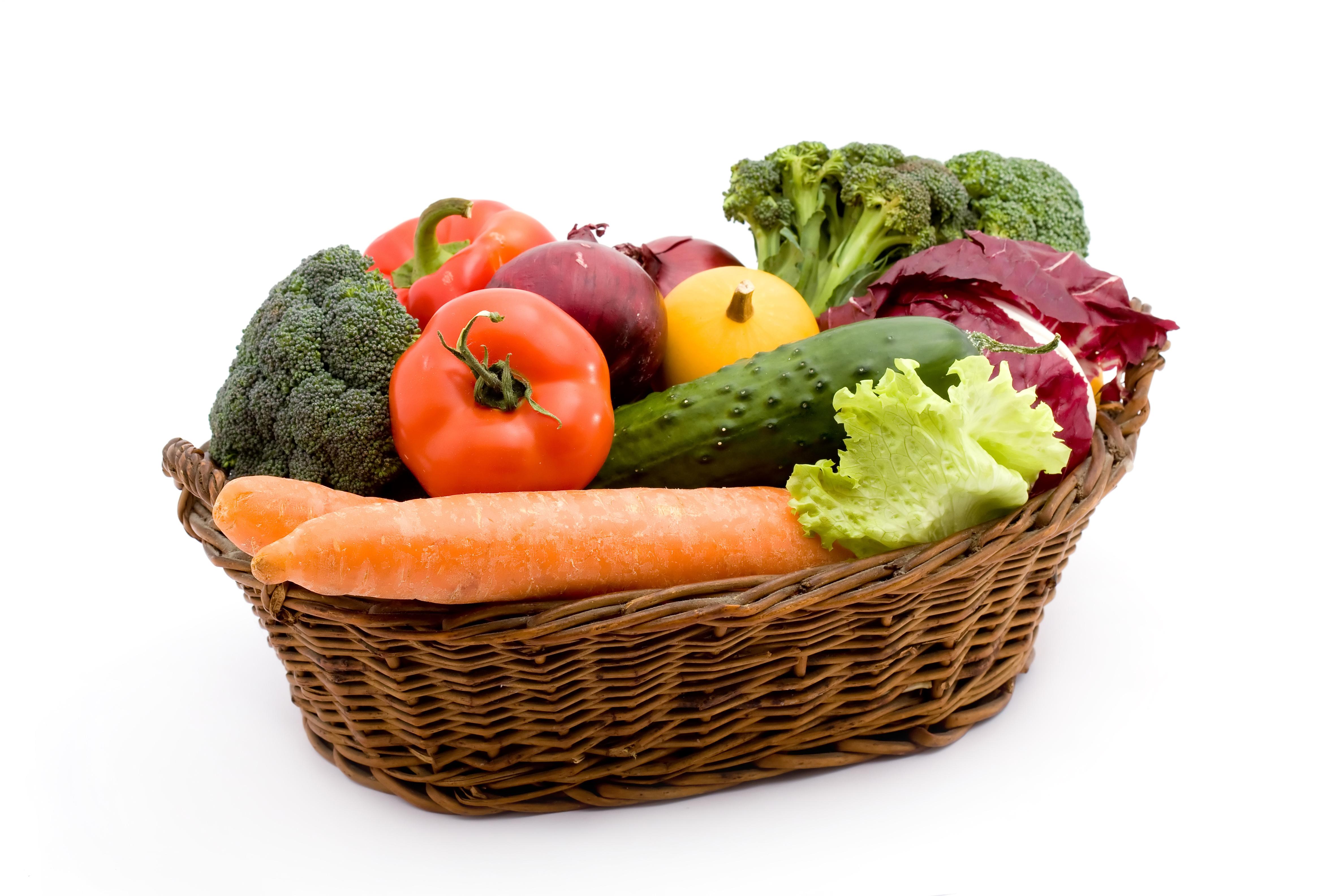 Корзинка из овощей